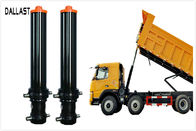 Single Acting Telescopic Hydraulic Cylinders , Hydraulic Welded Cylinder for Agricultural Machinery