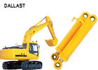 Heavy Duty High Pressure Hydraulic Cylinder Dual Stage For Industrial Crane Excavator