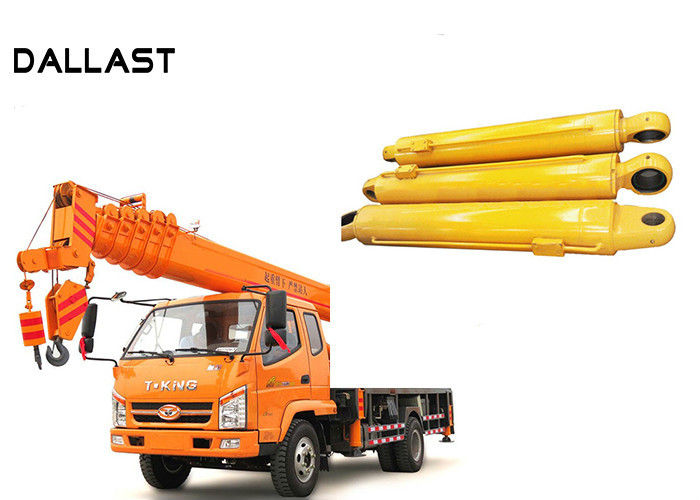 Double Acting Hoist Lifting Double Earring Hydraulic Oil Cylinder for Crane