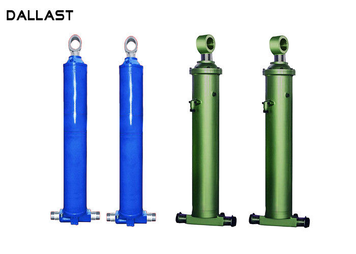 Customized FC Telescopic Hydraulic Cylinder for Dump Truck / Dumper Trailer