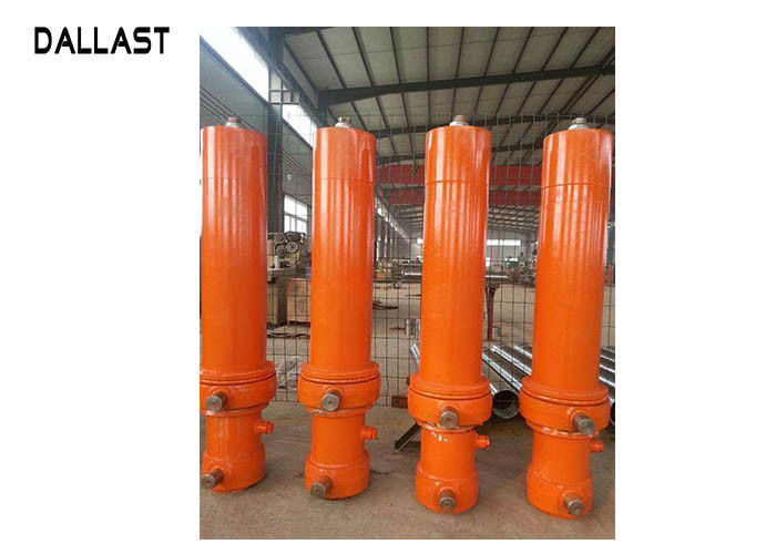 DALLAST Heavy Duty Hydraulic Cylinder Sleeve Telescopic Stages for Dump Truck